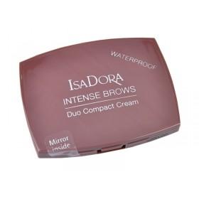 IsaDora Intense Brows Duo Compact Cream waterproof