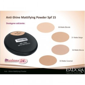 IsaDora Anti-Shine Mattifying Powder SPF 15 10g.